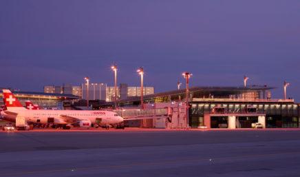 swiss at zurich airport