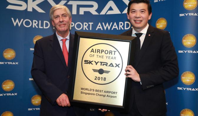 changi at the 2018 skytrax awards