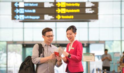 singapore changi staff service