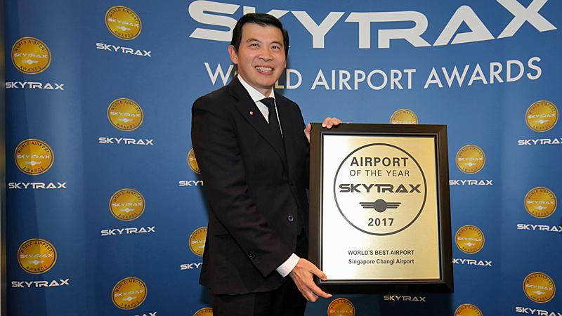 singapore changi world's best airport 2017