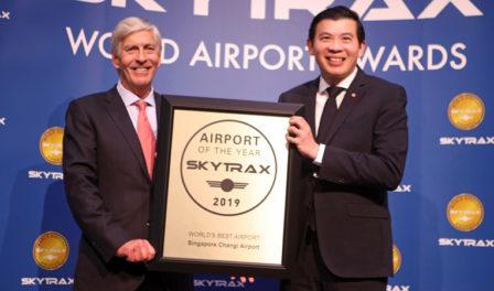 樟宜机场首席执行官lee seow hiang先生
