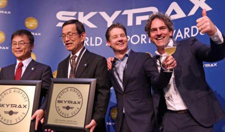 中部国际机场庆祝成功
