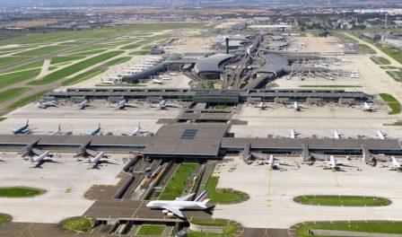 巴黎CDG机场