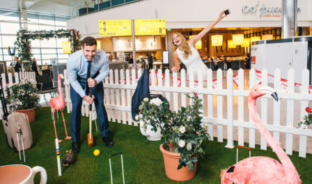 croquet at heathrow