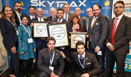 foto de grupo del aeropuerto internacional de hamad