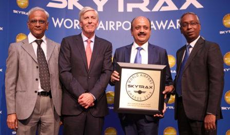 delhi nombrado mejor aeropuerto de india y asia central