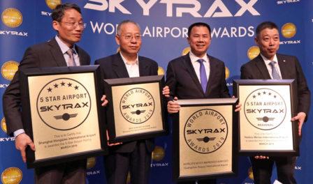 los aeropuertos chinos se reúnen en los premios de 2019