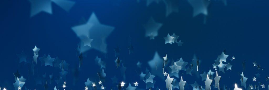 blue stars hero image