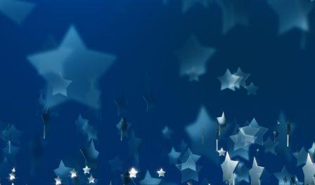 imagen de héroe de estrellas azules
