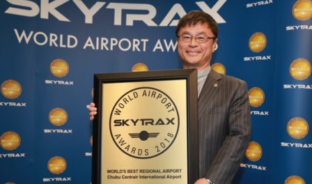 president and ceo chubu centrair airport