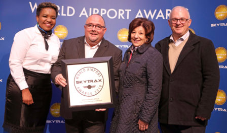cape town named best airport in africa
