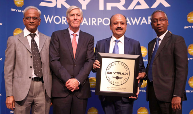 delhi named best airport india and central asia