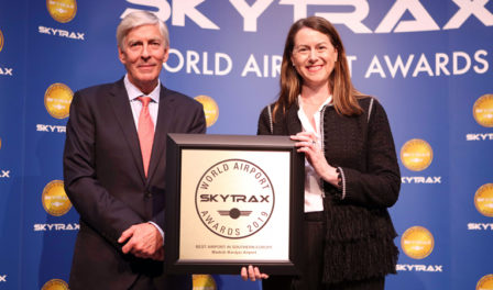 madrid wins award for best airport southern europe