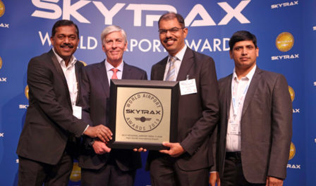 hyderabad voted best regional airport in india and central asia