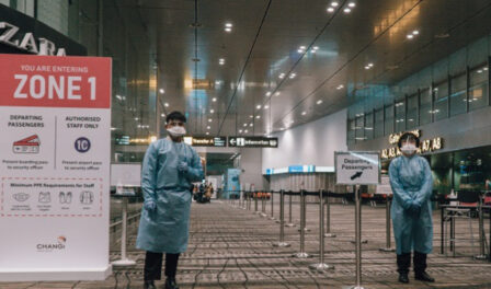 airport staff ppe